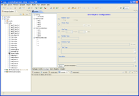 Developers screen for Tabby Editor